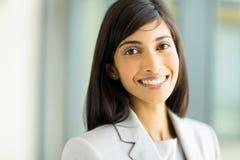 Travailleur d'entreprise indien Image libre de droits