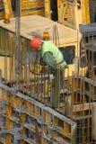 Travailleur de la construction Photos stock