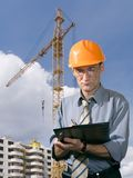 Travailleur de la construction Images stock