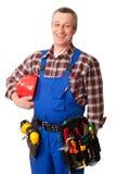 Travailleur de la construction mâle Image libre de droits