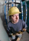 Travailleur de la construction mâle Photo libre de droits