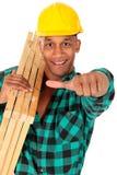 Travailleur de la construction sexy image libre de droits