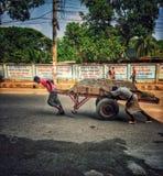 Travailleur de rue photos libres de droits