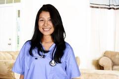 Travailleur de soins de santé à domicile photographie stock
