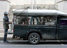 Travailleur thaïlandais images stock