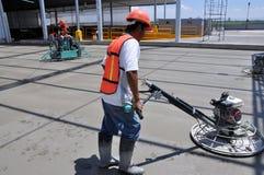 Travailleurs concrets Photo libre de droits
