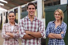 Travailleurs de ferme Images libres de droits