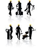 travailleurs de la construction Image libre de droits