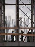 Travailleurs de la construction Photos stock
