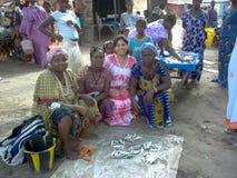 Travailleurs de la Guinée-Bissau en Afrique Photos libres de droits