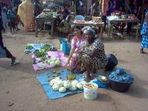 Travailleurs de la Guinée-Bissau en Afrique Images stock