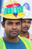 Travailleurs, Dubaï Images stock