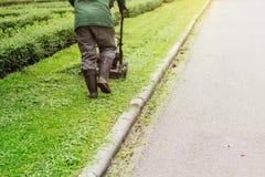 Travailleurs en parc Photo libre de droits