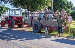 Travailleurs Vinales Cuba de ferme Image stock