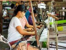 Travailleuses à Mandalay, Myanmar 3 Photos libres de droits