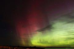 Travamento da Aurora Fotografia de Stock