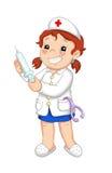 Travaux 1, l'infirmière Image stock