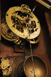 Travaux antiques d'horloge Photo libre de droits