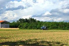 Travaux d'agriculture photo stock