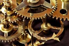 Travaux d'horloge. Image stock
