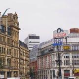 Travaux d'impression de Manchester Photographie stock libre de droits