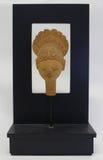 Travaux d'unique de sculpture en art moderne d'isolement Images libres de droits