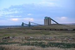 Travaux dans la mine, le bassin fluvial de poudre Photo libre de droits