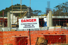 Travaux de construction Photos libres de droits