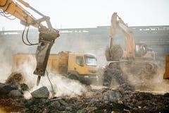 Travaux de construction Images stock