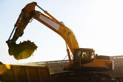Travaux de construction Images libres de droits