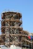 Travaux de construction dangereux Photo libre de droits