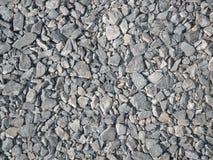 Travaux de construction de pierres concassées Image libre de droits