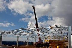 Travaux de construction en acier Photo libre de droits
