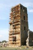Travaux de construction sur la vieille ruine à Panama City Photo libre de droits