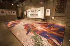 Travaux de cube - la main de Dieu Images libres de droits