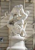 Travaux de Hercules Statue, le Reichkanzleitrakt, palais de Hofburg, Vienne, Autriche photographie stock