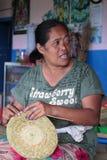 Travaux domestiques dans Bali Photographie stock