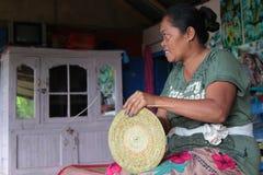 Travaux domestiques dans la campagne de Bali Image libre de droits