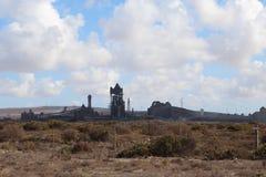 Travaux en acier usine, le Cap-Occidental, Afrique du Sud de Saldanha Photographie stock libre de droits
