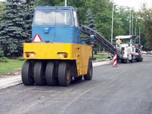 Travaux routiers Photographie stock