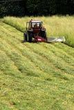 Travaux sur la pelouse Photo libre de droits