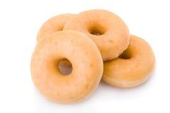 travde donutsmunkar fyra Arkivfoto