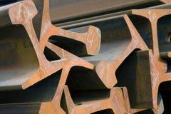Trave d'acciaio Fotografia Stock