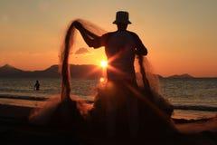 Trave o sol Fotografia de Stock