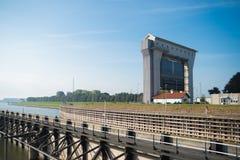 Trave PRINSBERNHARD SLUIS nos Países Baixos Imagem de Stock Royalty Free