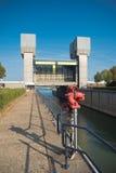Trave PRINSBERNHARD SLUIS nos Países Baixos Imagens de Stock