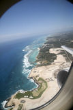 Travel. Nice view from above the beach Stock Photos