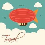 Travel. Design  over sky background vector illustration Stock Image