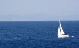 Travel. Sailboat Stock Image