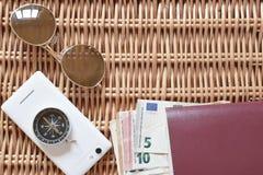 Traveler accessories stock photos